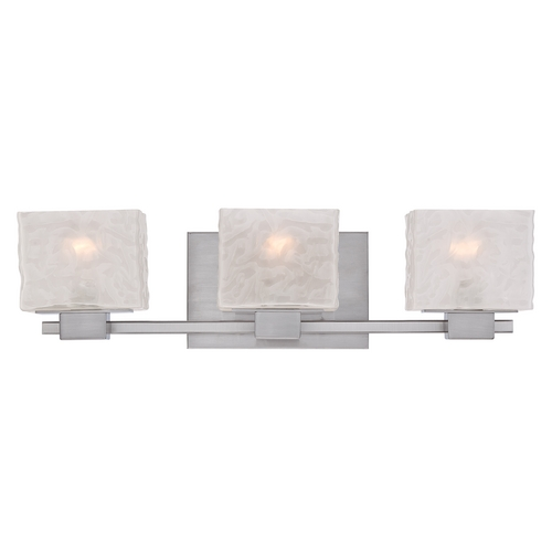 Quoizel Lighting Quoizel Melody Brushed Nickel Bathroom Light MLD8603BN