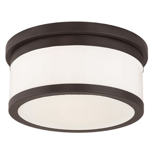Livex Lighting Livex Lighting Stafford Bronze Flushmount Light 65502-07