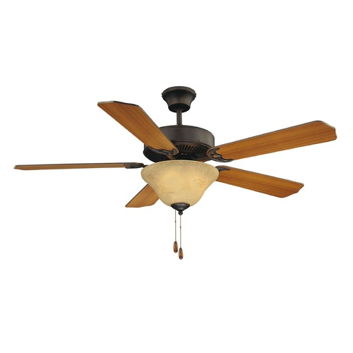 Savoy House Savoy House English Bronze Ceiling Fan with Light 52-ECM-5RV-13