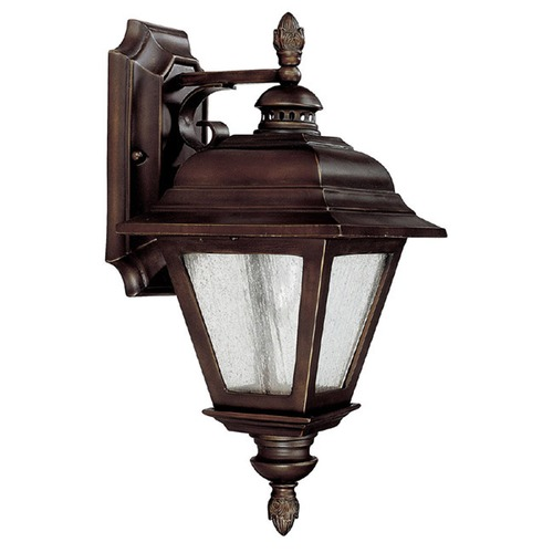 Capital Lighting Capital Lighting Brookwood Burnished Bronze Outdoor Wall Light 9961BB