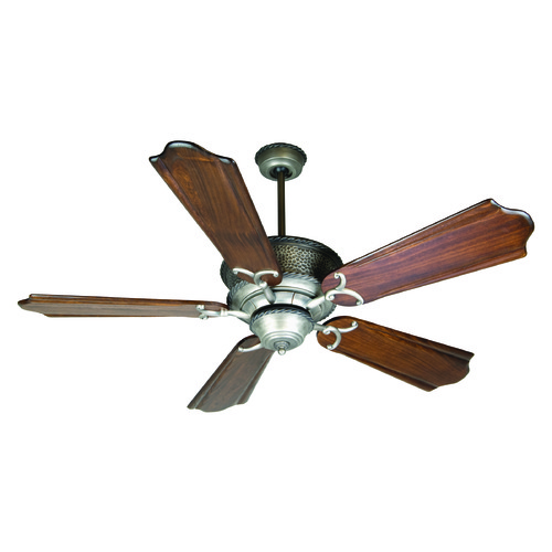 Craftmade Lighting Craftmade Lighting Riata Pewter Ceiling Fan Without Light K10351