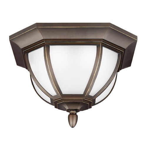 Sea Gull Lighting Sea Gull Lighting Childress Antique Bronze LED Close To Ceiling Light 7836391S-71