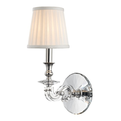 Hudson Valley Lighting Hudson Valley Lighting Lapeer Polished Nickel Sconce 1291-PN