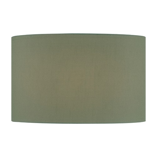 Lite Source Lighting Green Drum Lamp Shade with Spider Assembly CH1243-18