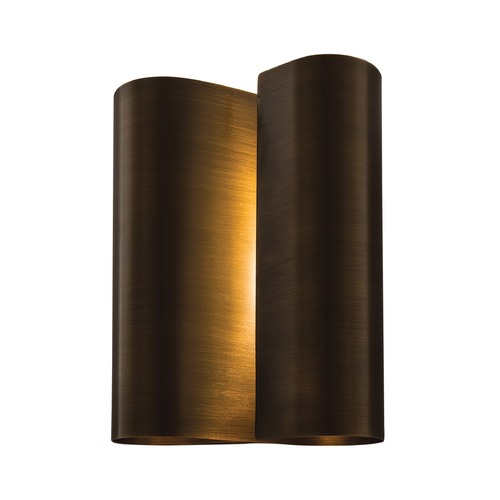 Norwell Lighting Norwell Lighting Curl Brushed Pewter Sconce 7001-AN-NG
