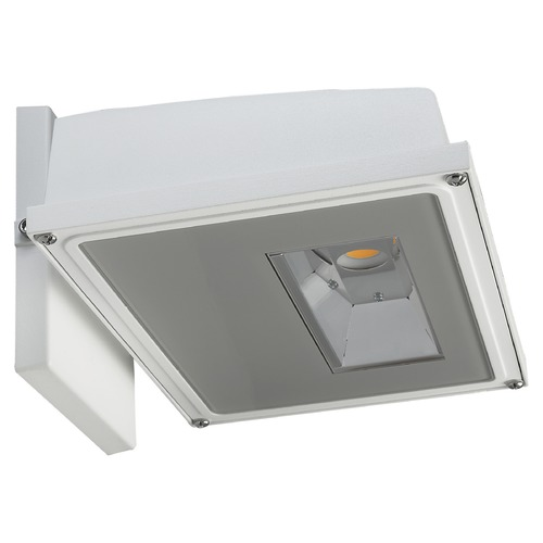 Nuvo Lighting Nuvo White LED Wall Pack 4000K 2346LM 120-277v 21W 65/162