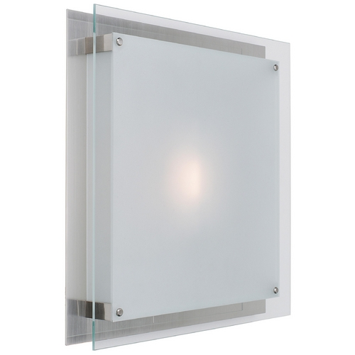 Access Lighting Two-Light Bathroom Light 50032-BS/FST