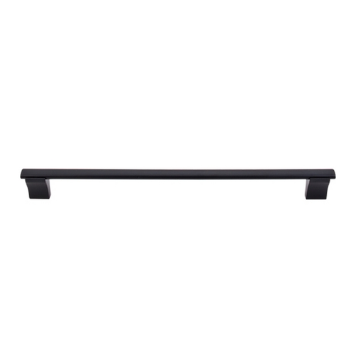 Top Knobs Hardware Modern Cabinet Pull in Flat Black Finish M1098