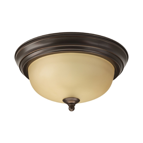 Progress Lighting Progress Flushmount Light in Bronze Finish P3924-20T