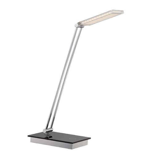 Lite Source Lighting Lite Source Luke Ii Chrome LED Swing Arm Lamp LS-22292