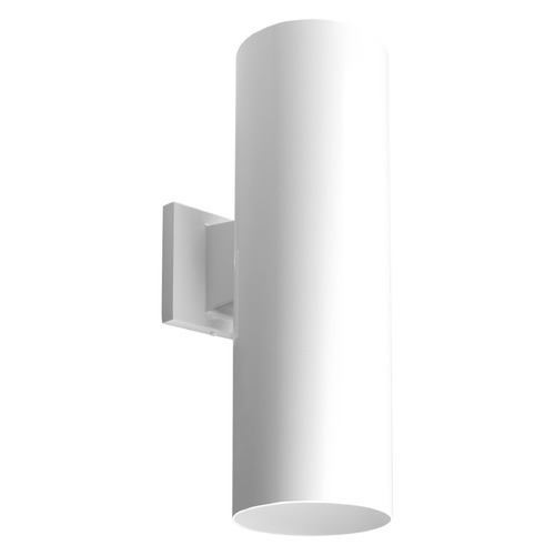Progress Lighting Progress Lighting Cylinder White LED Outdoor Wall Light P5642-30/30K