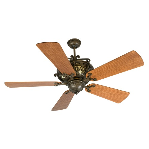 Craftmade Lighting Craftmade Lighting Toscana Peruvian Bronze Ceiling Fan with Light K10359