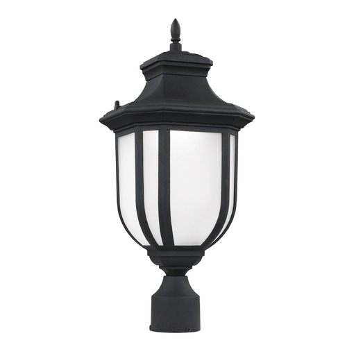 Sea Gull Lighting Sea Gull Lighting Childress Black LED Post Light 8236391S-12