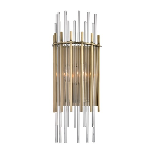 Hudson Valley Lighting Hudson Valley Lighting Wallis Aged Brass Sconce 6300-AGB