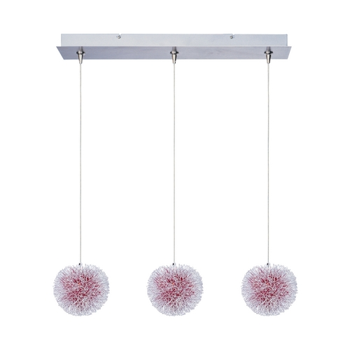 ET2 Lighting Modern Low Voltage Multi-Light Pendant Light 3-Lights E94820-93AL