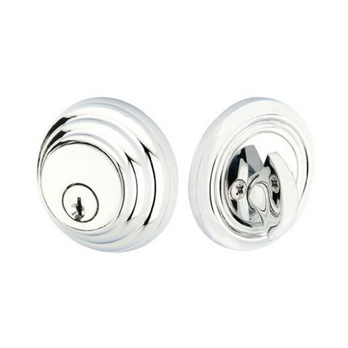 Emtek Hardware Deadbolt in Satin Nickel Finish EH 8455-US15