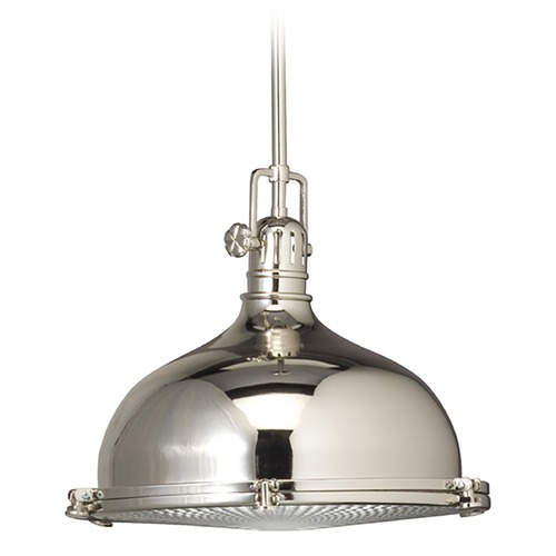 Kichler Lighting Kichler Nautical Pendant with Fresnel Lens - 13-1/2-Inches Wide  2666PN