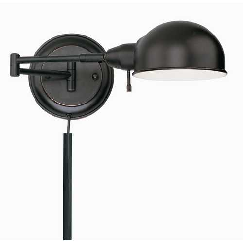 Lite Source Lighting Swing-Arm Wall Lamp LS-16753AGED/CP