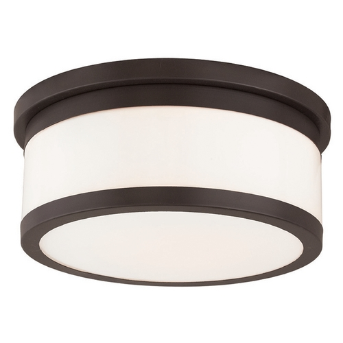 Livex Lighting Livex Lighting Stafford Bronze Flushmount Light 65503-07