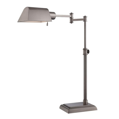 Satco Lighting Satco Antique Nickel Desk Lamp 57/012