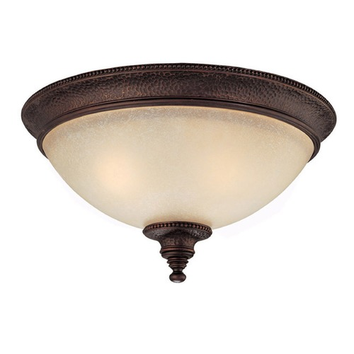 Capital Lighting Capital Lighting Hill House Burnished Bronze Flushmount Light 2273BB