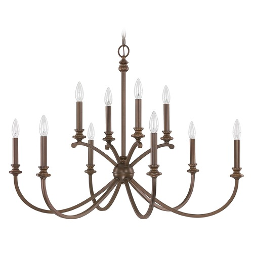 Capital Lighting Capital Lighting Alexander Burnished Bronze Chandelier 4747BB-000