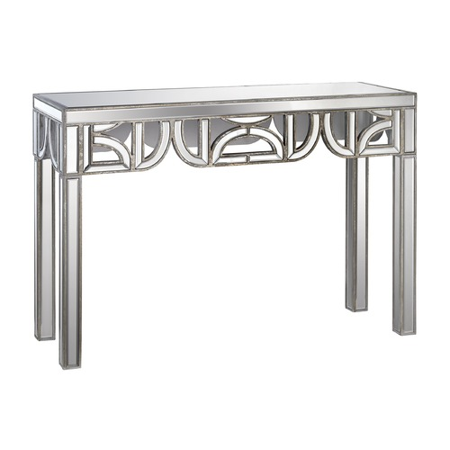 Dimond Lighting Mirrored Console With D Shape Detailing 173-009