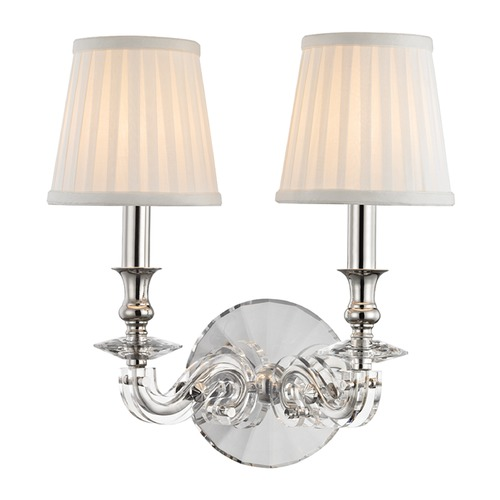 Hudson Valley Lighting Hudson Valley Lighting Lapeer Polished Nickel Sconce 1292-PN