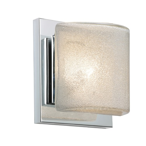 Besa Lighting Besa Lighting Paolo Chrome LED Sconce 1WS-7873GL-LED-CR
