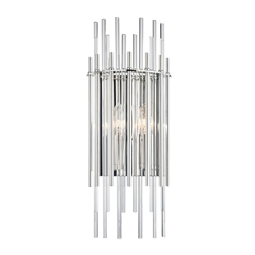 Hudson Valley Lighting Hudson Valley Lighting Wallis Polished Nickel Sconce 6300-PN