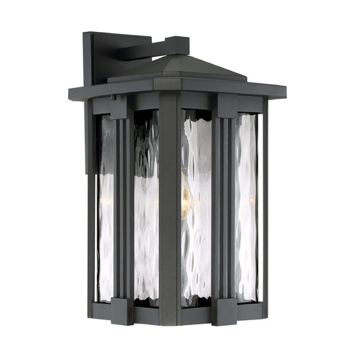Quoizel Lighting Quoizel Lighting Everglade Earth Black Outdoor Wall Light EVG8411EK