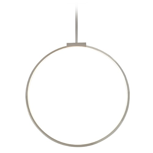 Kuzco Lighting Kuzco Lighting Cirque Brushed Nickel LED Pendant Light PD82524-BN