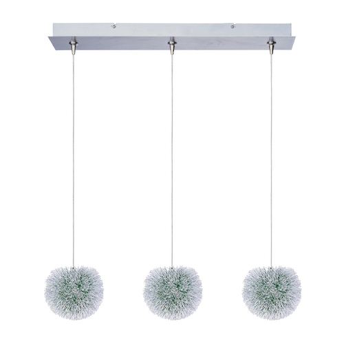 ET2 Lighting Modern Low Voltage Multi-Light Pendant Light 3-Lights E94820-94AL