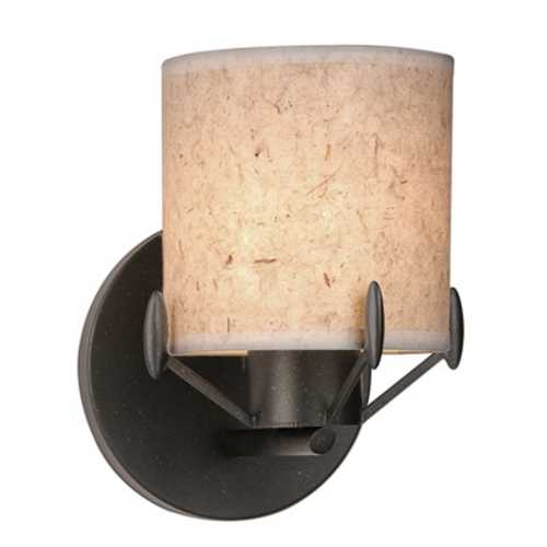 Singlelight Sconce With Artisan Paper Shade F51549