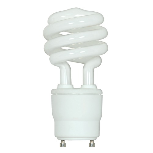 Satco Lighting 18-Watt GU24 Compact Fluorescent Light Bulb S8205