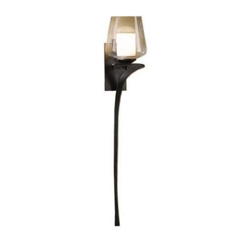 Hubbardton Forge Lighting 26-1/2-Inch Tall Sconce with Two Shades 204712-SKT-LFT-08-ZU0291