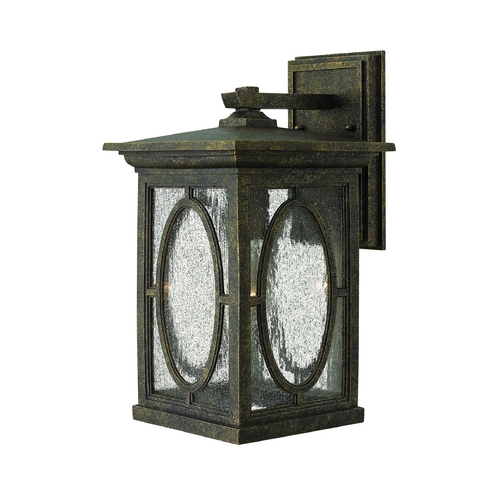 Hinkley Lighting LED Outdoor Wall Light with Clear Glass in Autumn Finish 1494AM-LED