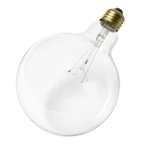 Satco Lighting Incandescent G40 Light Bulb Medium Base 120V by Satco S3011