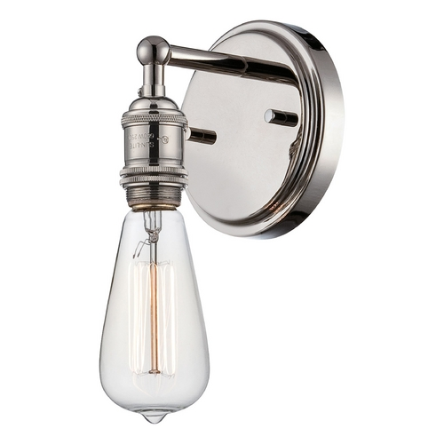Nuvo Lighting Sconce Wall Light in Polished Nickel Finish 60/5415