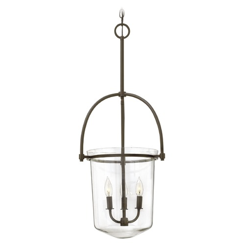 Hinkley Lighting Hinkley Lighting Clancy Buckeye Bronze Mini-Chandelier 3033KZ