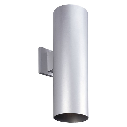 Progress Lighting Cylinder Metallic Gray LED Outdoor Wall Light P5642 82 30