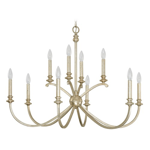 Capital Lighting Capital Lighting Alexander Winter Gold Chandelier 4747WG-000
