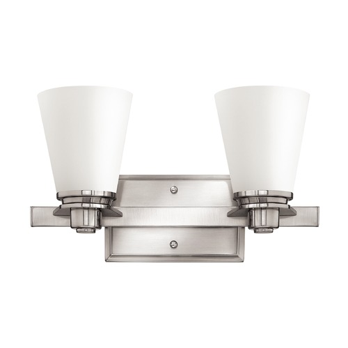 Hinkley Lighting Hinkley Lighting Avon Brushed Nickel LED Bathroom Light 5552BN-LED