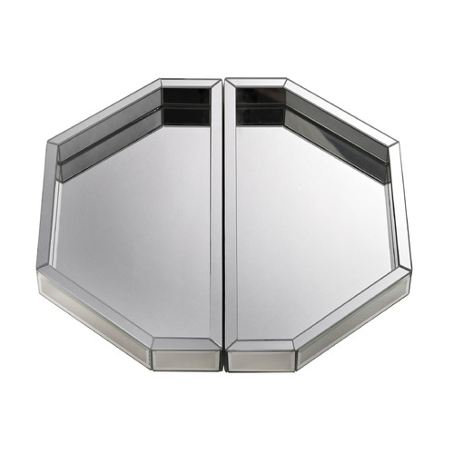 Dimond Lighting Set of Two Mirrored Trays 173-010