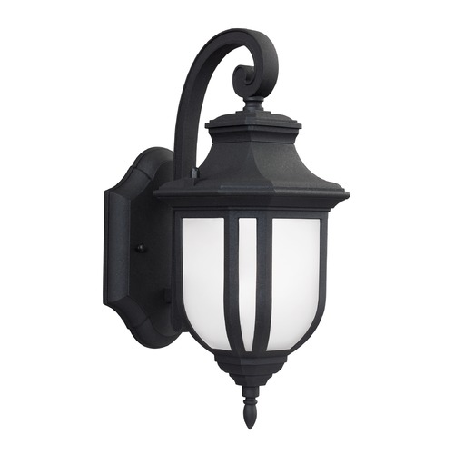 Sea Gull Lighting Sea Gull Lighting Childress Black LED Outdoor Wall Light 8536391S-12