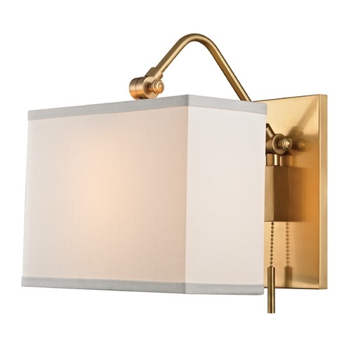 Hudson Valley Lighting Hudson Valley Lighting Leyden Aged Brass Swing Arm Lamp 5421-AGB