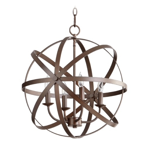 Quorum Lighting Quorum Lighting Celeste Oiled Bronze Pendant Light 6009-4-86