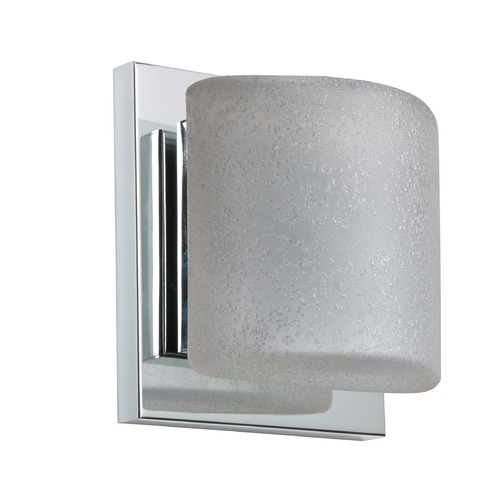 Besa Lighting Besa Lighting Paolo Chrome LED Sconce 1WS-7873ST-LED-CR