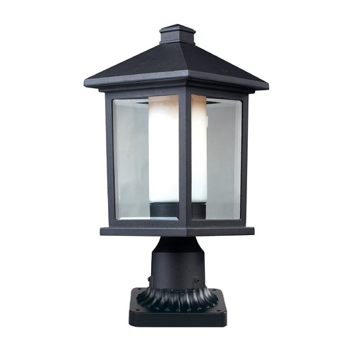 Z-Lite Z-Lite Mesa Black Post Light 523PHM-PM