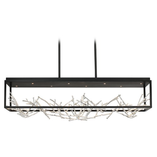 Eurofase Lighting Eurofase Lighting Aerie Black / Silver LED Island Light 35642-023